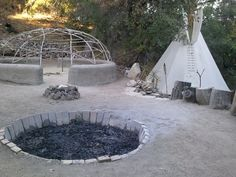 Sweat Lodge at the Ojai Foundation. http://www.ojaifoundation.org/