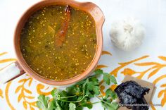 """My Mother's Rasam  - South Indian """"King Soup"""" - recipe for a cold and flu busting spicy soup"""