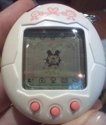 You were a 90's kid if you remember these LOL. Giga Pets! I think I will buy one of these again, even though all they did was poop and die