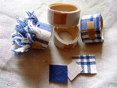 To Do: make some fabric tape...great tutorial