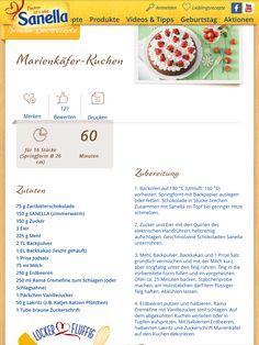 Marienkäferkuchen.  Nicht LC