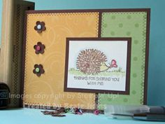 Sweet Friend using Stampin Up Fun & Fast Notes
