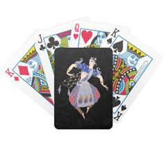 A Dream Dancer Art Deco - Deck of Playing Cards