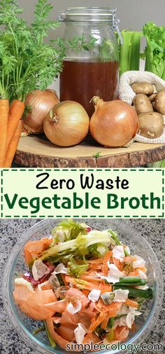 Zero Waste Vegetable Broth Homemade Veggie Stock from Kitchen Scraps, Compost Vegetable Broth Recipe, Low Sodium Vegan Vegetarian, Easy Healthy Beginner Friendly, Zero Waste Organic Money Saver Recipes With Vegetable Broth, Homemade Vegetable Broth, Veggie Recipes, Soup Recipes, Recipes With Vegetables, Veggie Stock, Organic Cooking, Legumes Recipe, Recipes