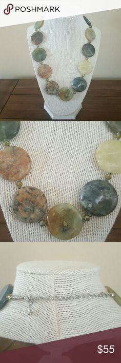 Necklace Stunning statement stone necklace. stacy mcbride Jewelry Necklaces