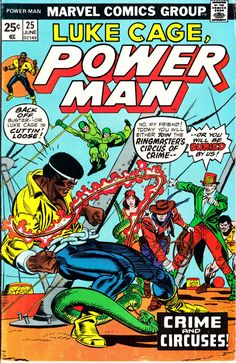 Power Man 1972 Hero for Hire 25 October 1982 Issue  by ViewObscura
