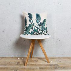 En gros Linge Taie d'oreiller Vert Feuille Botanique Tropical Cactus Coussin Décoratif À La Maison Taie d'oreiller 45x45 cm/55x55 cm dans Housse de coussin de Maison & Jardin sur AliExpress.com | Alibaba Group