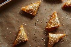Samsa (Almond-Orange Triangles) Recipe on Food52, a recipe on Food52