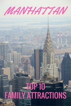 New York City Top Family Attractions In The Bronx Family - 12 things to see on your trip to new york city