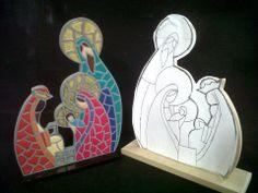 s Christmas Nativity, Christmas 2019, All Things Christmas, Holiday Ornaments, Christmas Decorations, Nativity Clipart, Mosaic Portrait, Catholic Crafts, Mosaic Madness