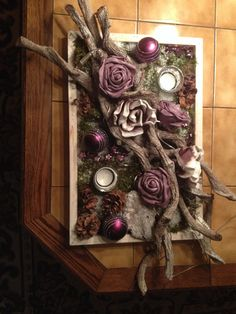 Dienblad in kerstfeest leuk voor op tafel