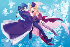 Sheryl and Alto from Macross Frontier