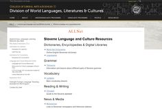 Are you learning or teaching ‪#‎Slovene‬? Check out the open educational resources compiled by the Autonomous Language Learning Network (ALLNet) in the DWLLC! http://clas.uiowa.edu/dwllc/node/810  For more information about ALLNet, please visit our website: http://clas.uiowa.edu/dwllc/allnet