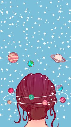 Wallpaper Mind Universe 3 by Gocase - . Wallpaper Mind U Tumblr Wallpaper, Cartoon Wallpaper, Wallpaper Pastel, Wallpaper Space, Kawaii Wallpaper, Cute Wallpaper Backgrounds, Wallpaper Iphone Cute, Aesthetic Iphone Wallpaper, Disney Wallpaper