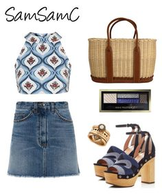 """""""# 195 ♡"""" by samchoo ❤ liked on Polyvore featuring Topshop, Marc by Marc Jacobs, Sigerson Morrison, Hermès, Max Factor and Lucky Brand"""