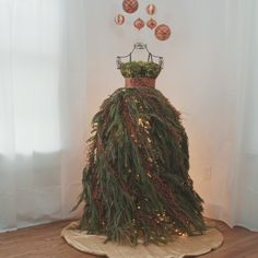Dress Form Christmas Tree