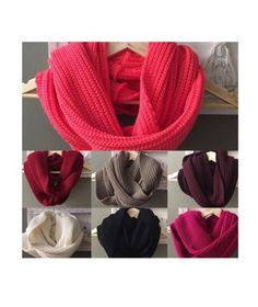 maxi gola de tricô - lenços sem marca Lenços Femininos 81a0b891431