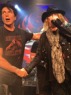 George Lynch and Don Dokken 2016