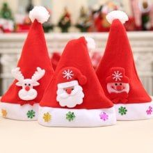 Kids' Christmas Different Ornaments Hat