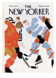 The New Yorker Cover - February 28, 1970 Giclee Print by James Stevenson at Art.com