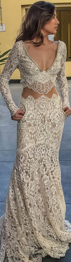 Hey, does this gown have pockets!!! DS Luxury Bridal Dresses- Galia Lahav Haute Couture jαɢlαdy