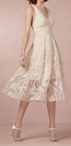Fresh blossoms dress