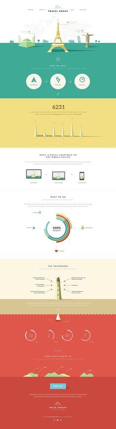 An interesting #infographic, simple and modern. Good Job! A project by https://www.behance.net/webcreateme