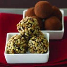 #recipe #food #cooking Ghirardelli(R) Dark Chocolate Truffles