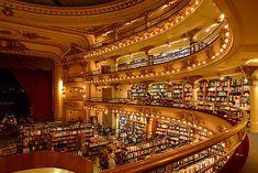 Librería El Ateneo (ex Teatro Grand Splendid) in Buenos Aires, Argentina; photo by Nick Graham (chenick via Flickr)