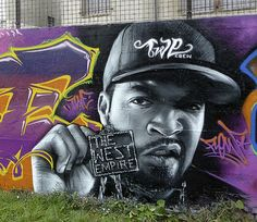 Ice Cube ~ FLOW is an urban artist from Nice (France) belonging to the TWE CREW (Flow, Deza, Nitch, Zikoa and Athor2)