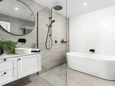 32 Best Shower Tile Ideas That Will Transform Your Bathroom - The Trending House Bathroom Renos, Bathroom Renovations, Small Bathroom, Bathroom Ideas, Budget Bathroom, Master Bathroom, Reece Bathroom, Wet Room Bathroom, Ensuite Bathrooms