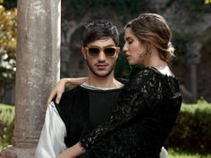 Dolce & Gabbana Men Sunglasses: Discover the Advertising Campaign for Fall Winter 2014 with Bianca Balti. Eyewear Collection Men by Dolce&Gabbana Accessories.