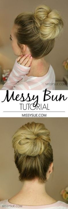 You asked and I (finally!) listened! By far my most requested tutorial, today I am featuring how I create my messy buns! There are three different buns in today's video with two signature styles and a third one that didn't have a video but is still…