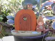 Pumpkin time is just around the corner!  Mama Gnome is waiting INSIDE for anyone to share stories with. She will tell you everything about the forest.