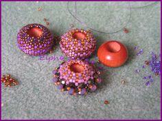 Love these colors together.....TUTO GRATUIT Boule Hestia. Elphi Créations.