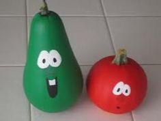 veggie tales pumpkin & gourd