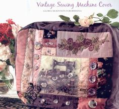 Crazy Quilt Sewing Machine Cover tutorial
