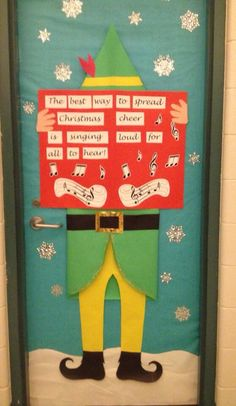 My Buddy inspired door decoration