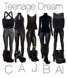 """""""Teenage dream"""" by lovelyfashionstyles on Polyvore featuring Givenchy, AG Adriano Goldschmied, H&M, M.i.h Jeans, Miss Selfridge, La Perla, Jeffrey Campbell, Kendall + Kylie, JustFab and Via Spiga"""