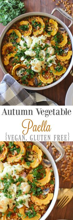 Autumn Vegetable Pae