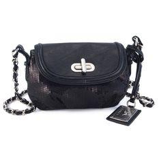 I love the Koret Shimmer & Shine Shoulder Bag from LittleBlackBag