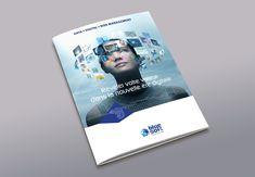 Brochure commerciale pour Blue Soft Communication, Polaroid Film, Baby Born, Communication Illustrations