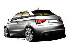 Audi A1 Design Sketch