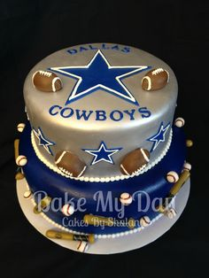 The top 20 Ideas About Dallas Cowboy Birthday Cake Ideas - Birthday Party Ideas Dallas Cowboys Birthday Cake, Cowboy Birthday Cakes, Dallas Cowboys Party, Cowboy Cakes, Cake Birthday, Dallas Football, Birthday Boys, Happy Birthday, Dallas Cowboys Baby Shower Ideas