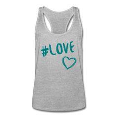 Liebe ist das einzige, das zählt! • Sportlich geschnittenes Tank Top für Männer