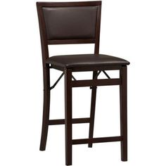 Free Shipping. Buy Linon Keira Folding Counter Stool, Espresso, 24 inch Seat Height, Assembled at Walmart.com