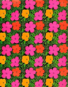 Patternatic - fuckyeahvintage-retro: Andy Warhol (via Martin. fuckyeahvintage-retro: Andy Warhol (via Martin Klasch) Andy Warhol Flowers, Painting, Print Patterns, Visual Art, Art, Art Movement, Art Wallpaper, Pop Art, Prints