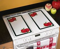 apple burner cover for my kitchen!
