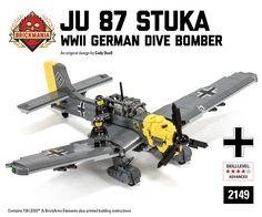 Brickmania - Ju 87 B-2 Stuka, $340.00 (http://www.brickmania.com/ju-87-b-2-stuka/)