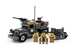 M2A1 Half Track  M157mm Anti-Tank Gun by Daniel Siskind http://flic.kr/p/nSCxeY